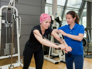 Fisioterapia ajuda recuperação de pacientes em tratamento de câncer