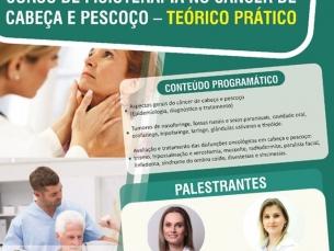 Curso de Fisioterapia em tumores de cabeça e pescoço - turma 3