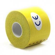 Bandagem Adesiva Kinesio Tape 5cm X 5m AMARELA