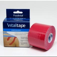 Bandagem Adesiva Kinesio Tape 5cm X 5m VERMELHA