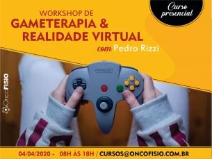 Workshop de gameterapia e uso da realidade virtual na fisioterapia T1