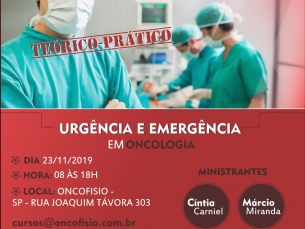 Workshop em Urgência e Emergência em Oncologia