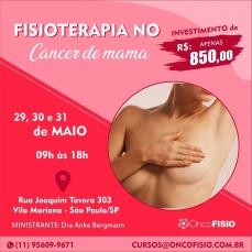 Curso de Fisioterapia no Cancer de mama