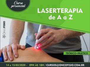 Curso de Laserterapia de A a Z - Fotobiomodulação