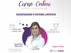 Curso Online AO VIVO: Desvendando o sistema linfático Turma 1