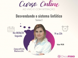 Curso Online AO VIVO: Desvendando o sistema linfático  Turma 2