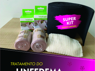 Kit enfaixamento para membro superior - VITAL TAPE